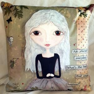 Polly Ppikin Velvet cushion